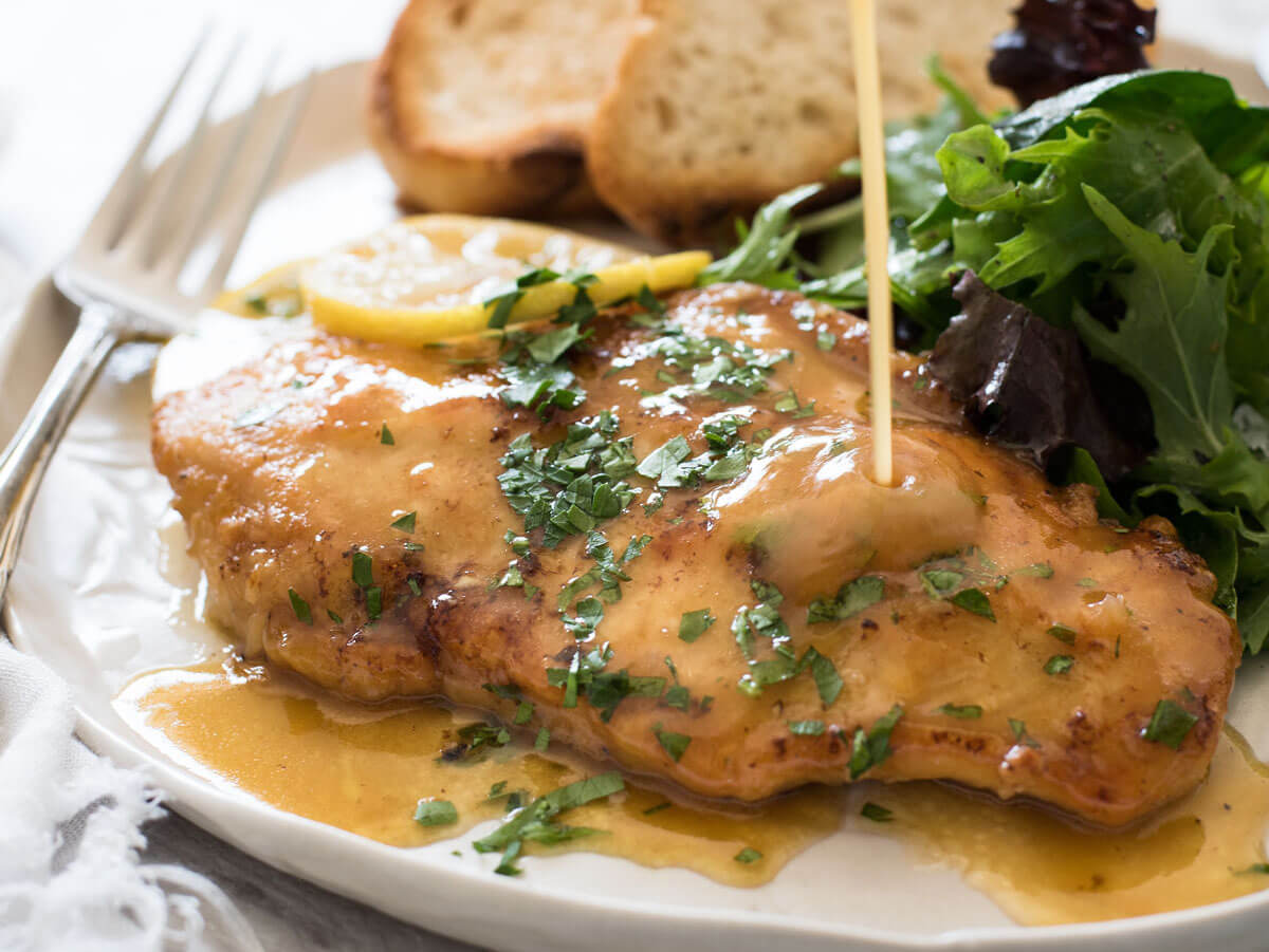 Chicken Breast with Lemon Sauce