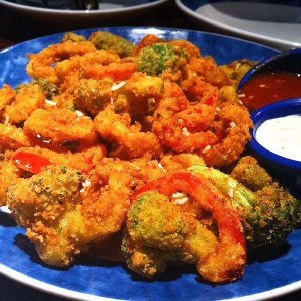 Calamari with Vegetables