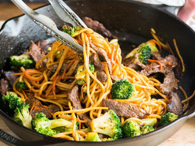 Chow Mein with Beef