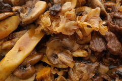 Veal With Mushroom & Bamboo Shoots