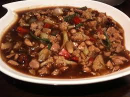 Chiken in Oyster Sauce