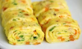 Eggs omelet