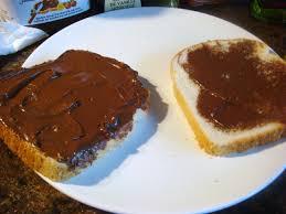 Toast Nutella
