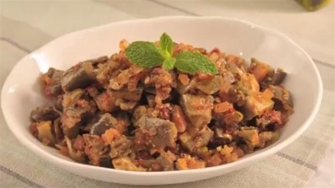 Makdous Salad