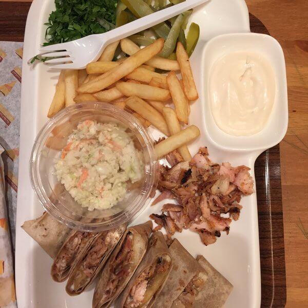 Italian Shawerma Mix meal