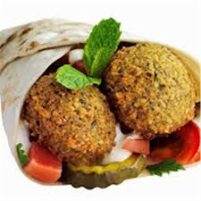 Falafel Sandwich with Asmar Bath