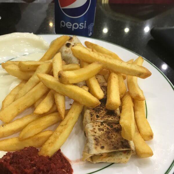 وجبة شاورما مكس ايطالية