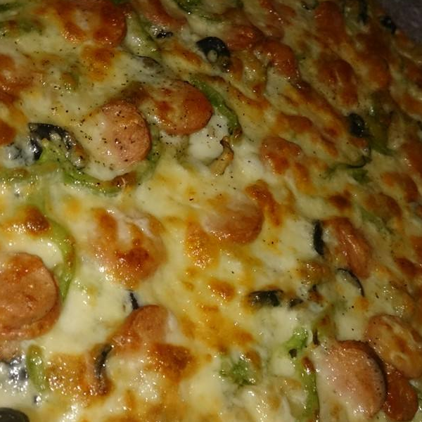 Hotdog Pizza
