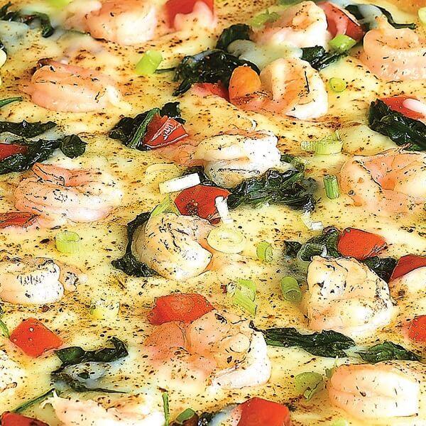 بيتزا فواكه البحر