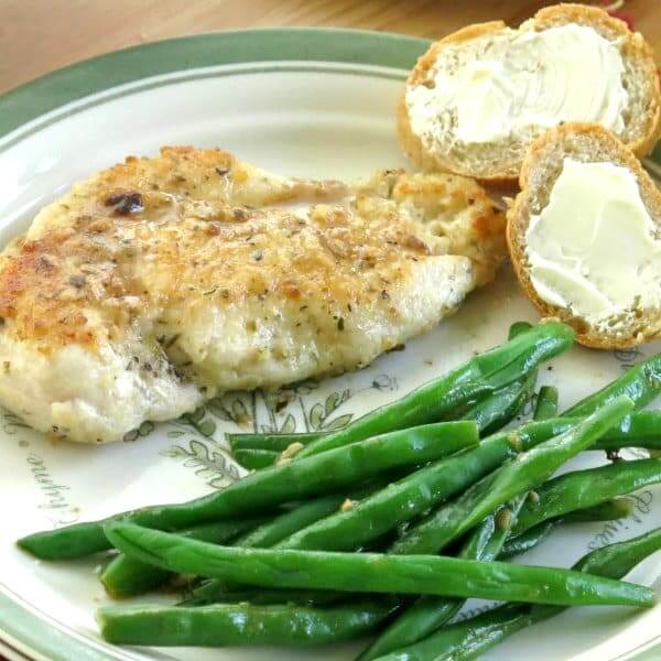 Chicken Steaks With Lemon Sauce