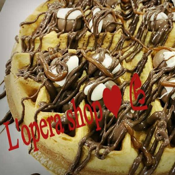 Waffle Nutella Kit Kat