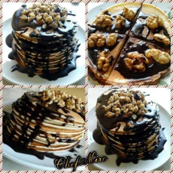 Ban Cake Nutella + Oreo