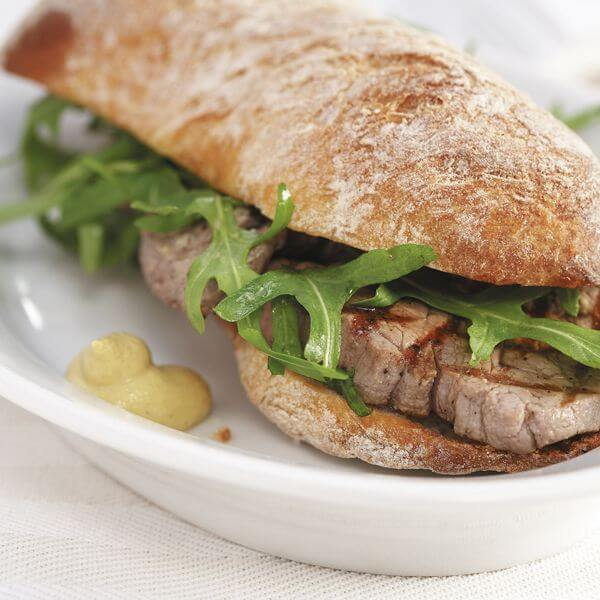 Chicken breast steak sandwich
