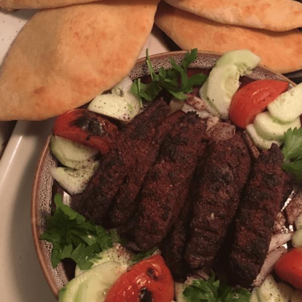 كباب خاروف مشوي