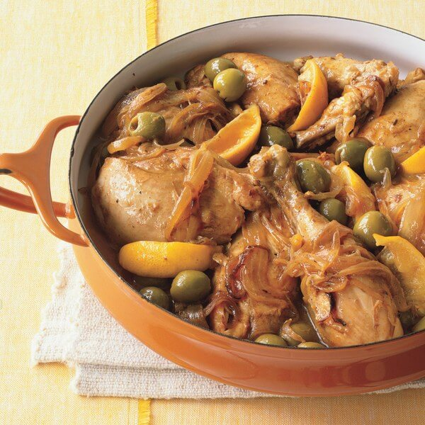 Chicken With Lemon&Almonds