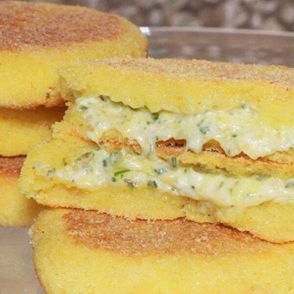 White Cheese Sandwich