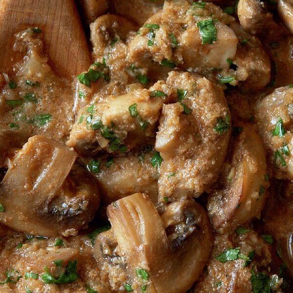 Fresh Mushroom Curry