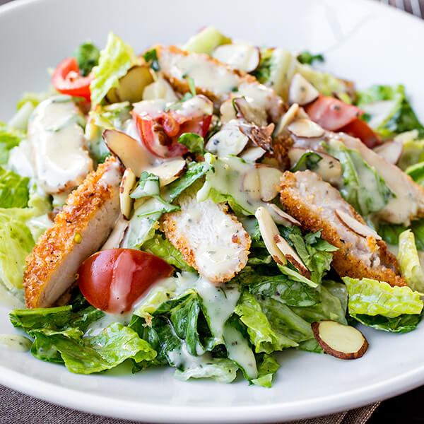 Kan Ya Makan Salads With Chicken Breast