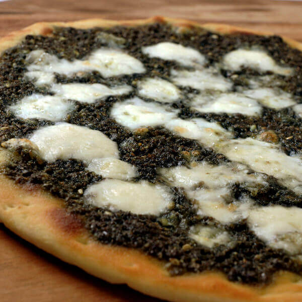 Thyme With White Cheese