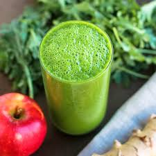 عصير تفاح اخضر