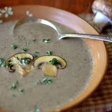 Black Mashrooms Soup