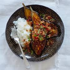 Egg plants with Chinese Sauce