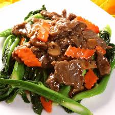 Veal with Oyster Sauce