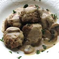 Veal with Black Mushrooms