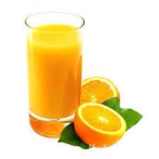 عصير برتقال طازج