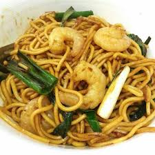 Chow Mein with Calamari