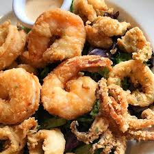 Calamari with Spring Onions