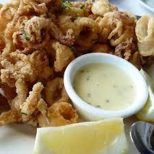 Calamari with Butter and Garlic