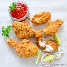 دجاج كريسبي حار