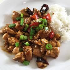 Chicken Sichuan + rice