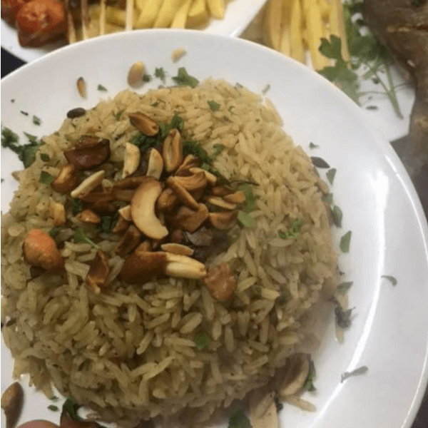 Dazzling Rice With Nuts
