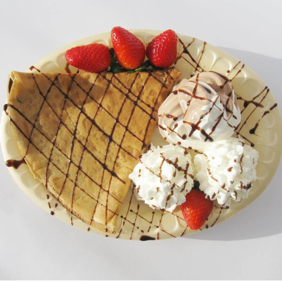 Crepe White Chocolate