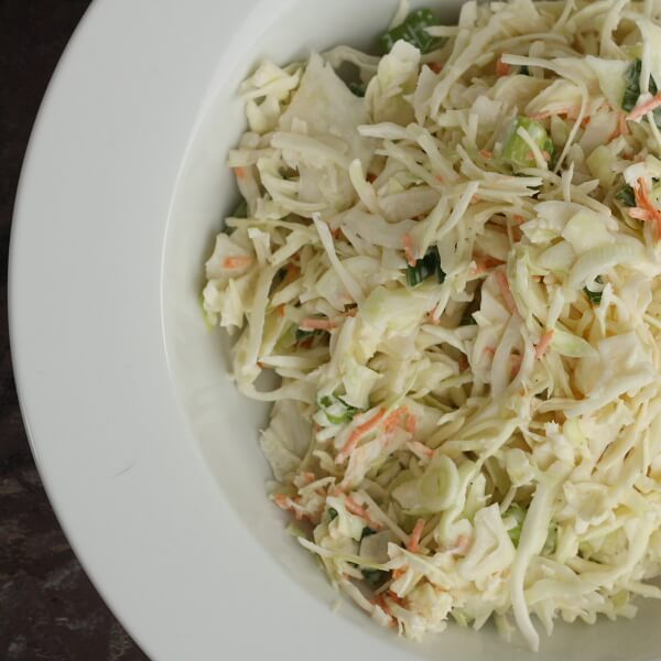 Cabbage with Mayonnaise