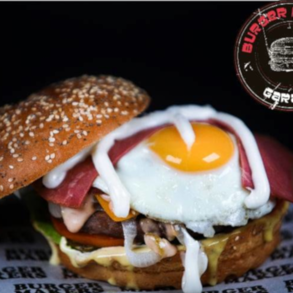 Egg Beef Burger
