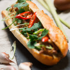 Vegetable Thai Wok Sandwich