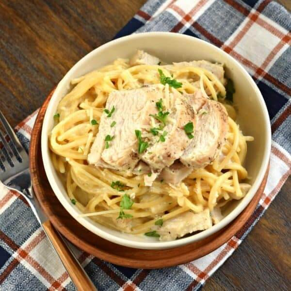 fettuccine chicken