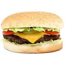Burger + Hummus