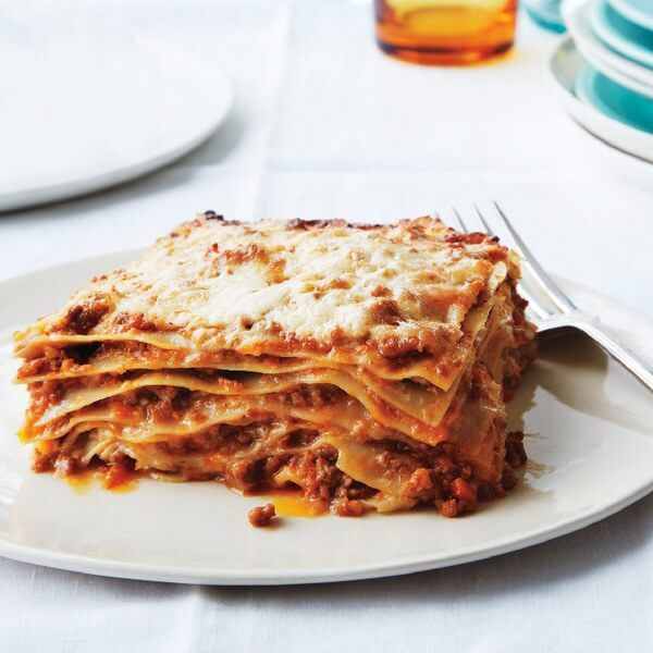 Lasagna with veal