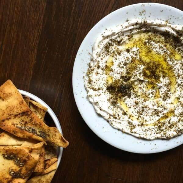 Labaneh with Thyme