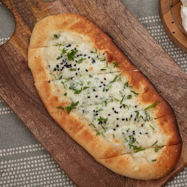 Manqousha White cheese