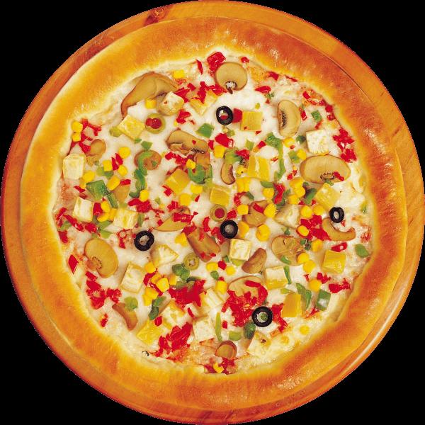 بيتزا ذرة وفطر