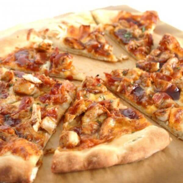 بيتزا دجاج باربكيو