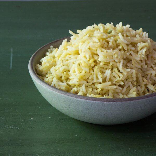 صحن أرز