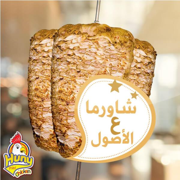 Shawerma baguette
