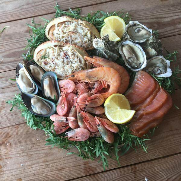 طبق ثمار البحر