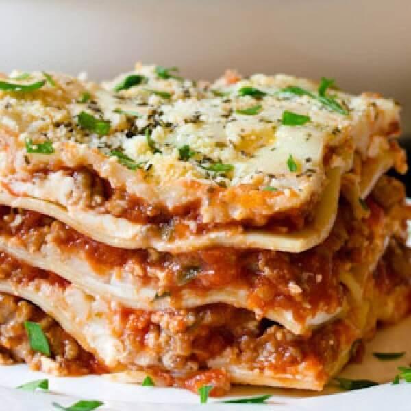 Lasagna Al  Bolognese